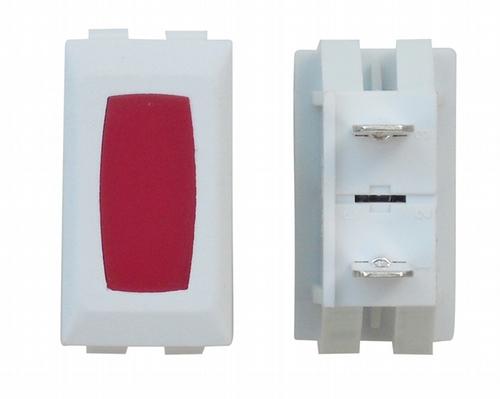 Illuminated Indicator Light - Red/White