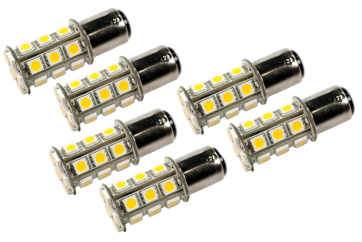 LED Bulb 1004/1076 Replacement, 6 Pack,Warm White