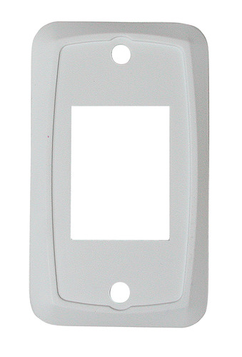 Switch Plate - White 1/Card