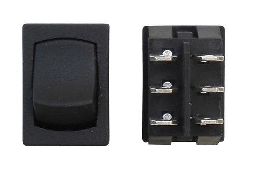 Mini On/On DPDT - Black 1/Card
