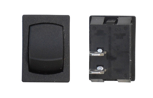 Mini Momentary Off/On SPST - Black 1/Card