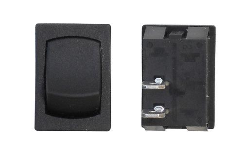 Mini Momentary Off/On SPST - Black 3/Bag