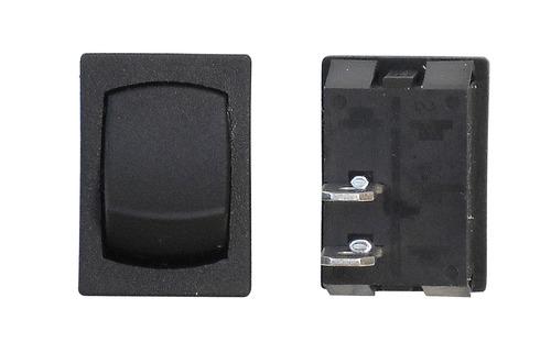 Mini Momentary On/Off SPST - Black 3/Bag