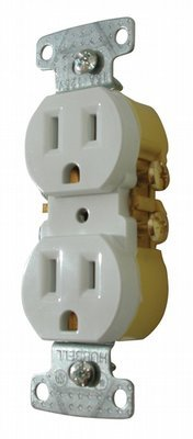 Standard Receptacle - White