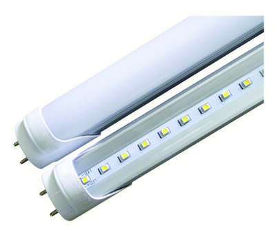 8 Foot T8 LED Tube, Direct Wire Single Pin