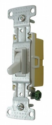 Standard Toggle Switch - White