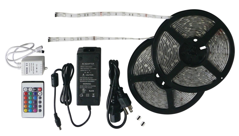 33 Foot RGB LED Strip Light Kit