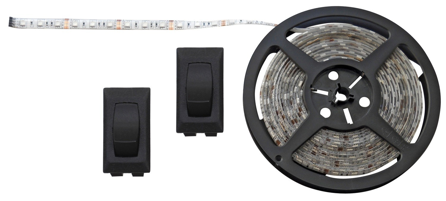 White 16 Foot LED Strip Light Kit