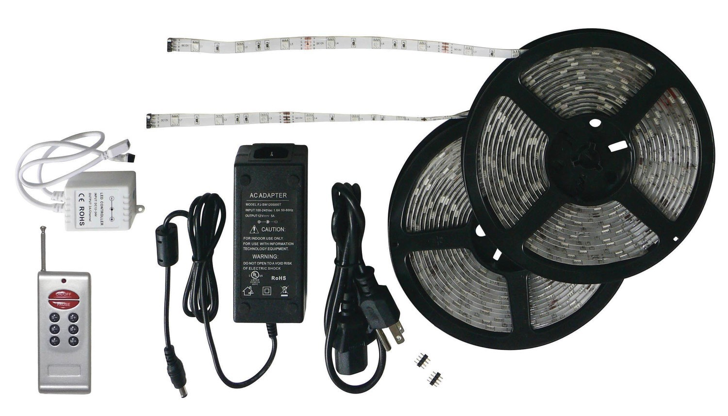 33' LED Strip Light Kit with RF Remote