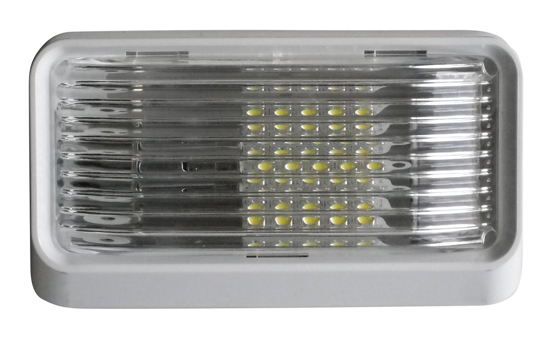 LED Porch Light Clear Lens