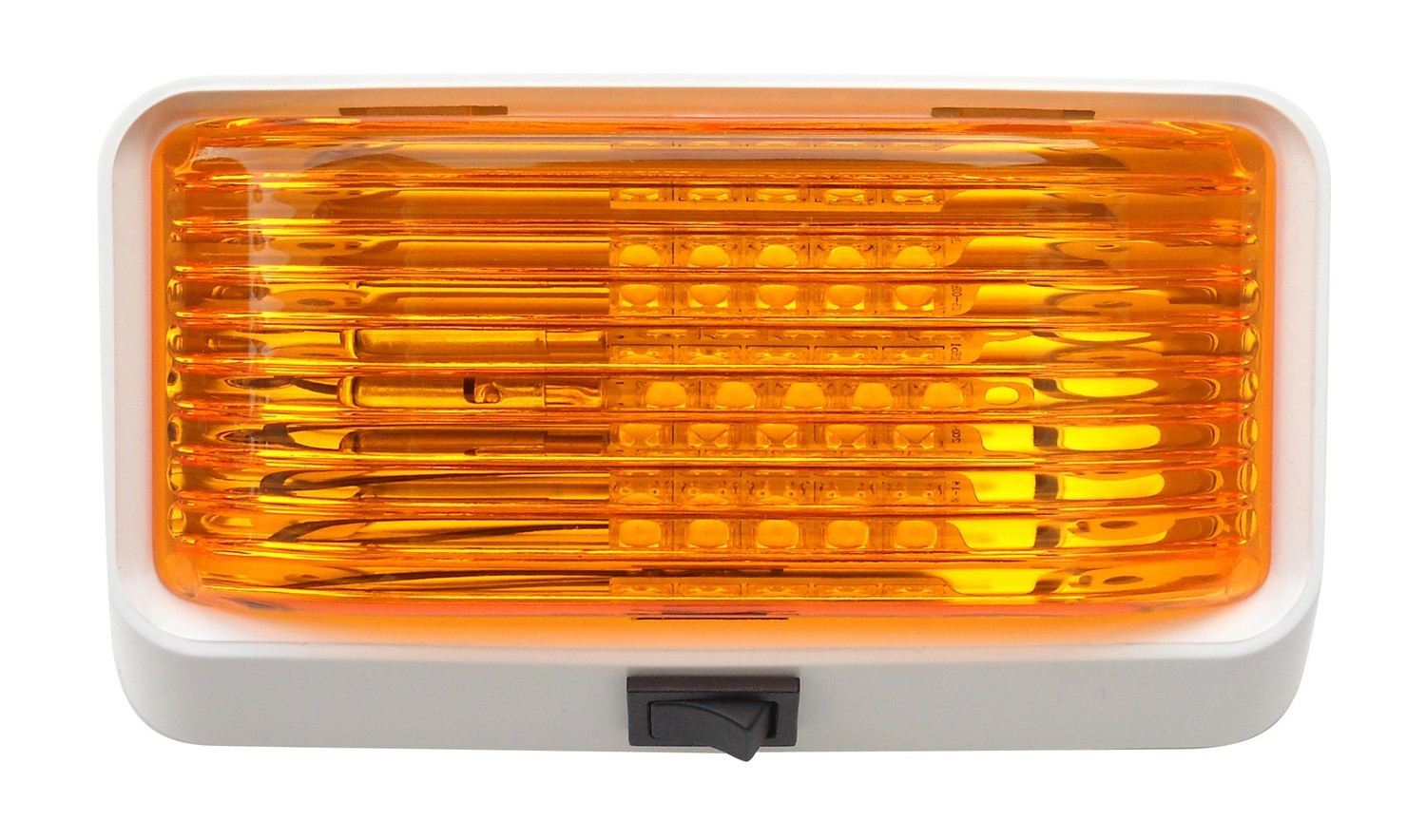 LED Porch Light with On/Off Switch - Amber