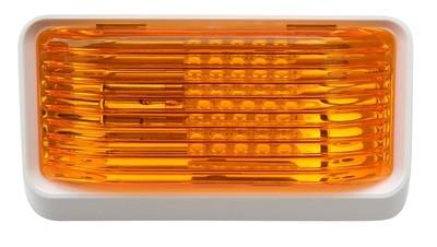 LED Porch Light Amber Lens