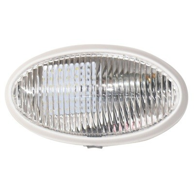 Surface Mount Oval Porch/Utility Light with No Switch