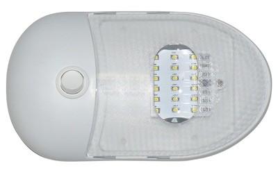 Slim Line Single LED Dome Light