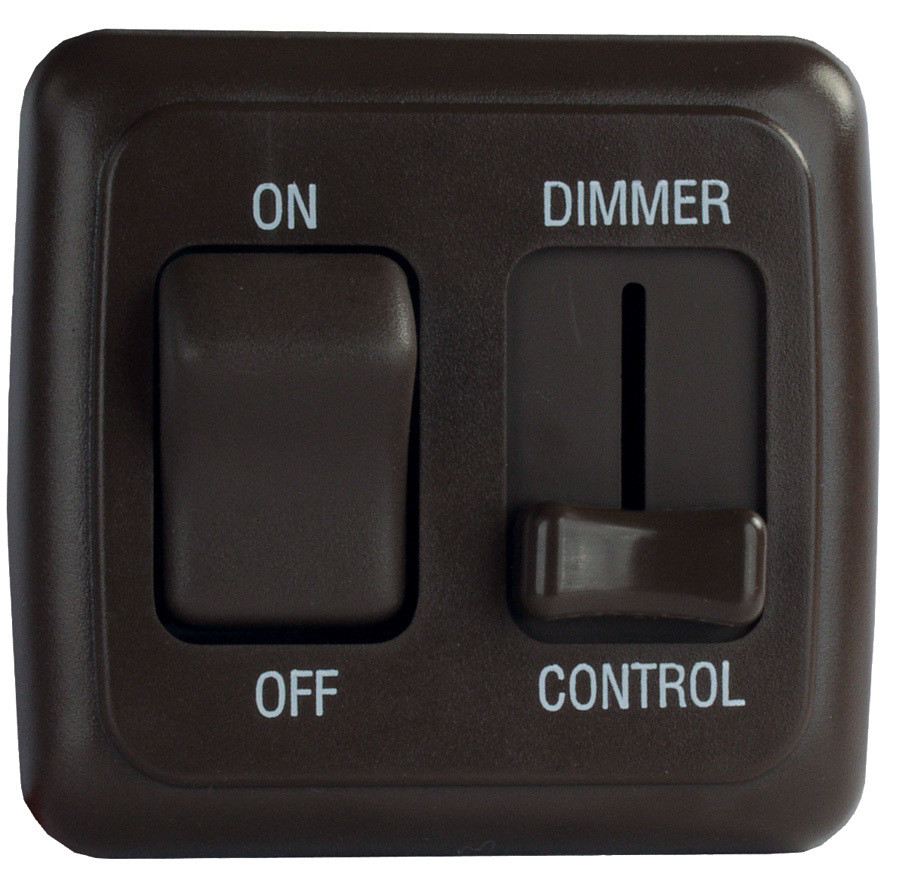 LED Dimmer and On/Off Switch - Black