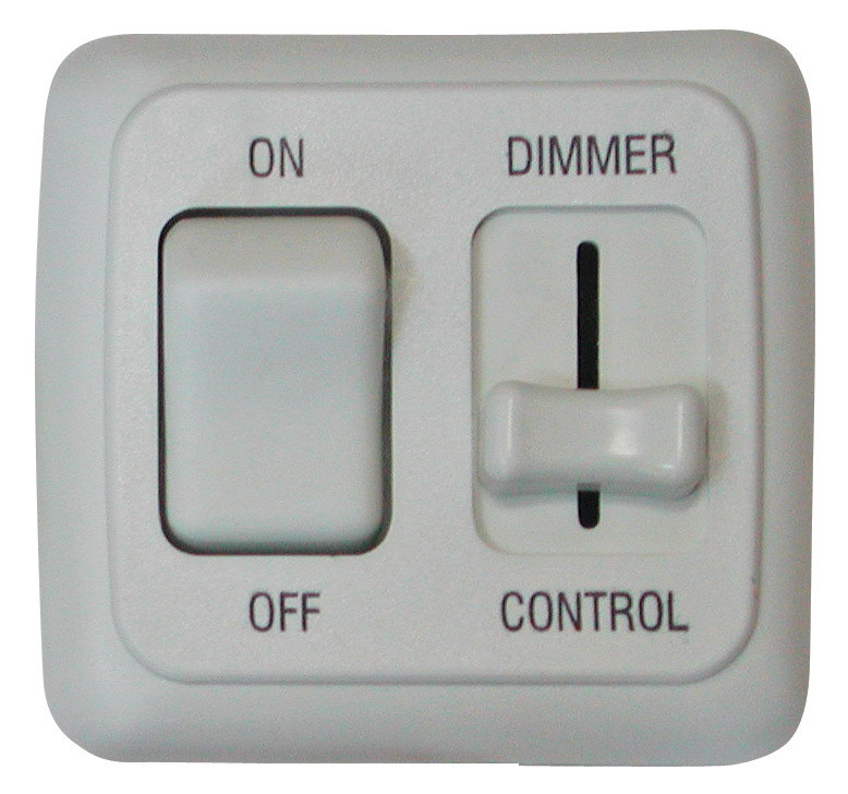 LED Dimmer and On/Off Switch - White