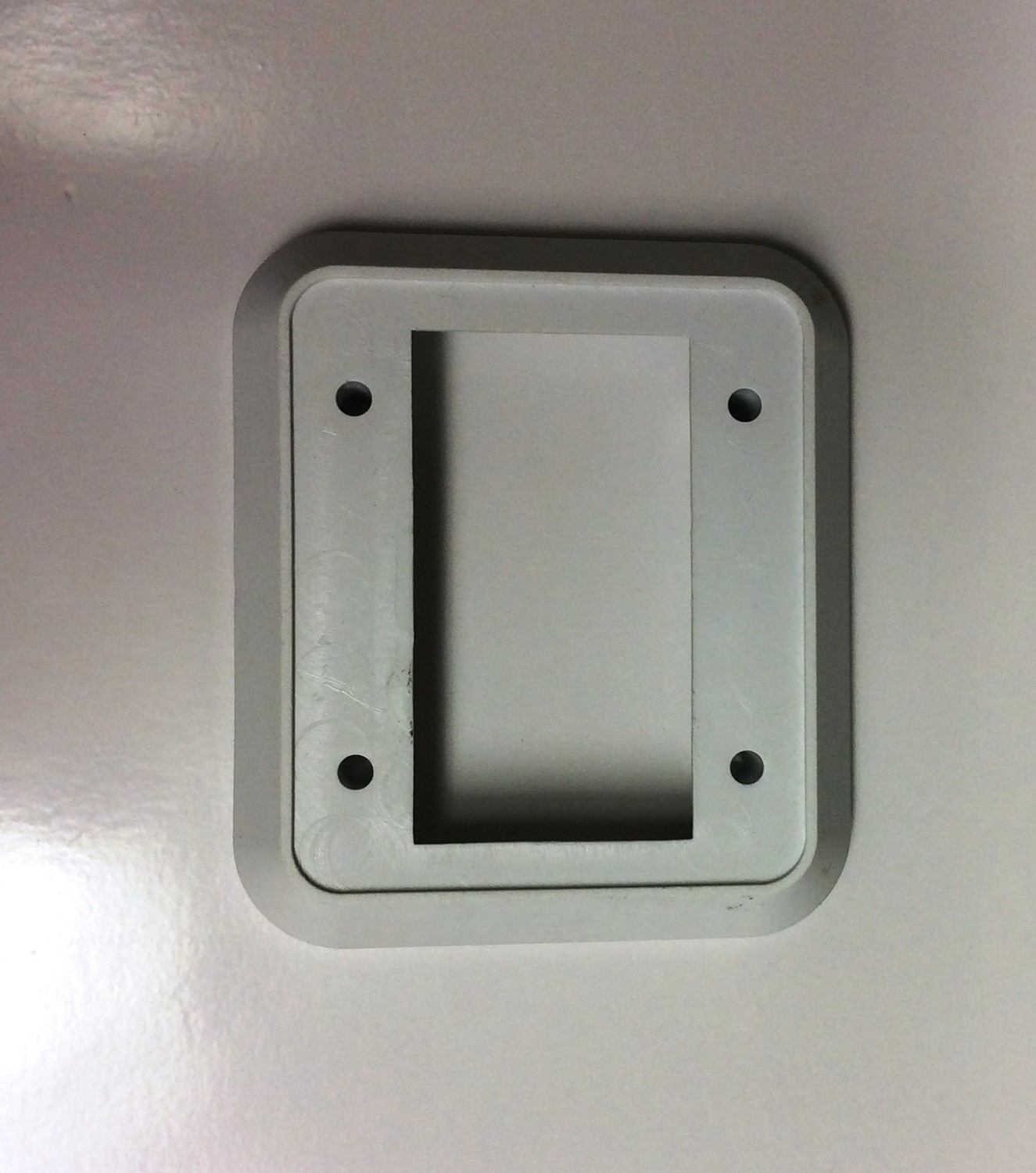 Wall Plate with Switch - White/White Double