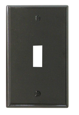 Toggle Switch Cover - Brown