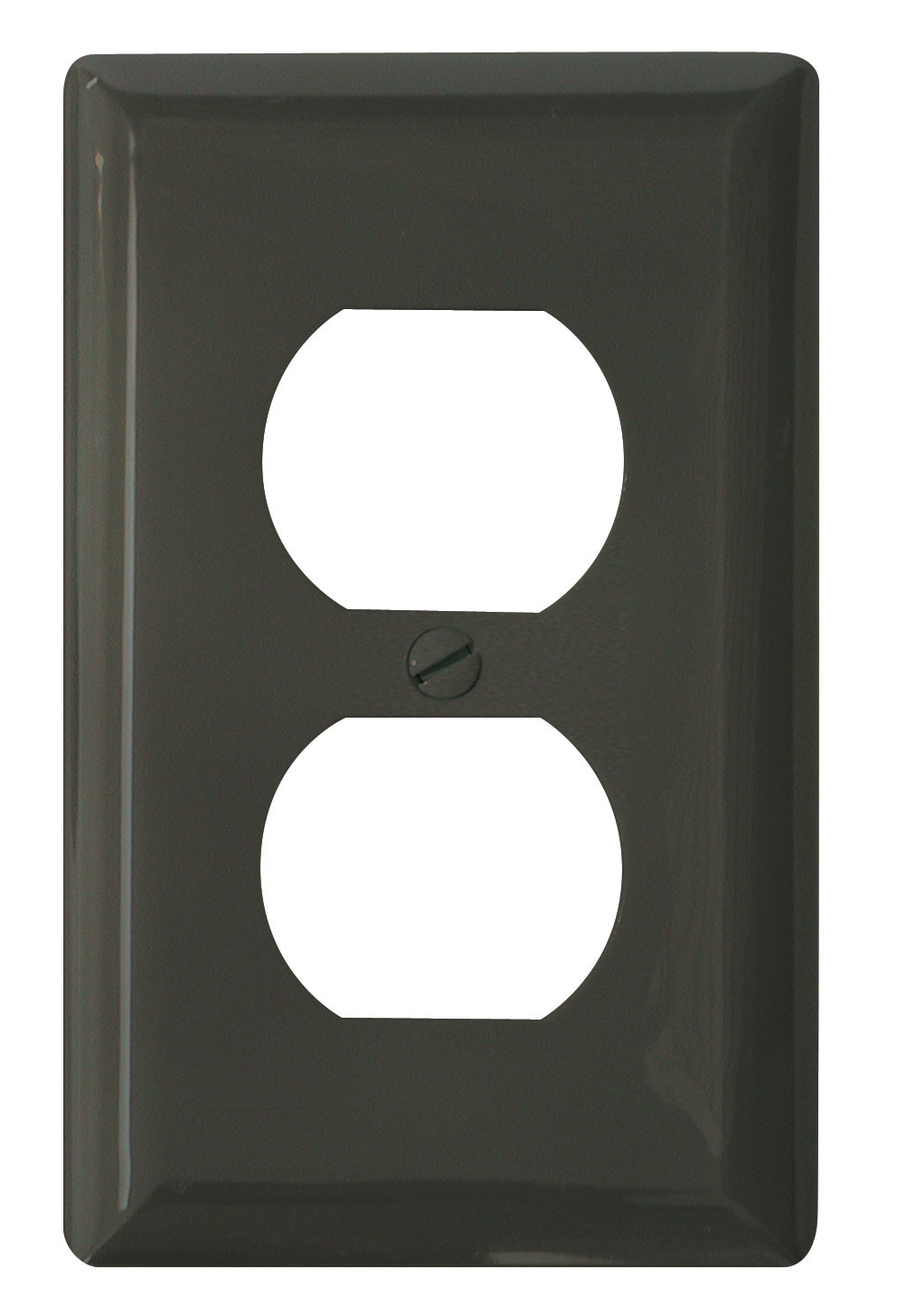 Standard Receptacle Cover - Brown