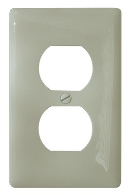 Standard Receptacle Cover - Ivory