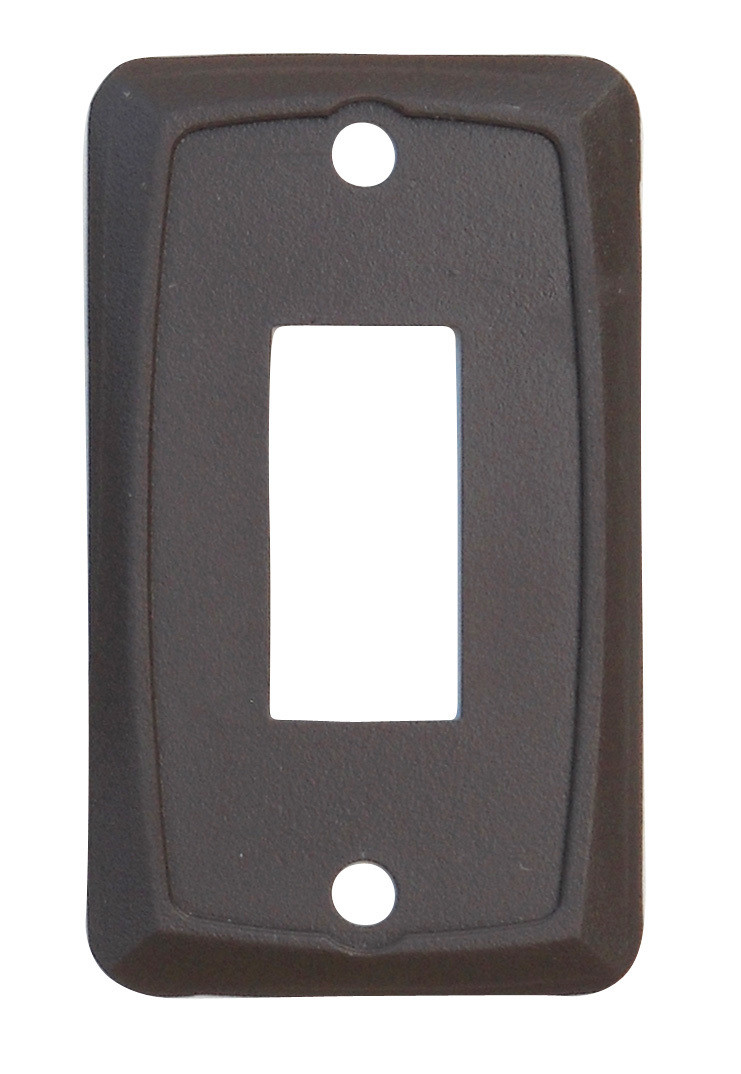 Single Face Plate - Brown 1/card