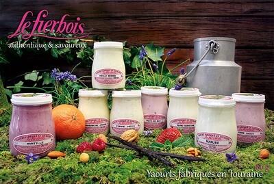 Yaourt fierbois  fruits ou dessert   180 g