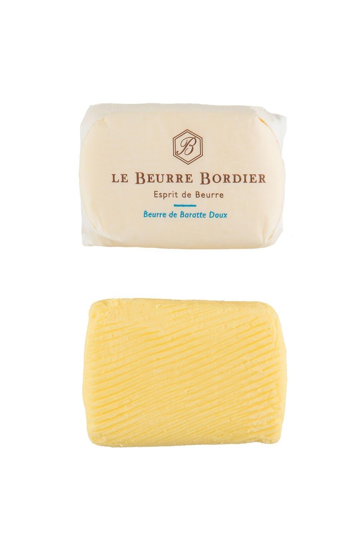 Beurre bordier doux ou ½ sel   100 g environ