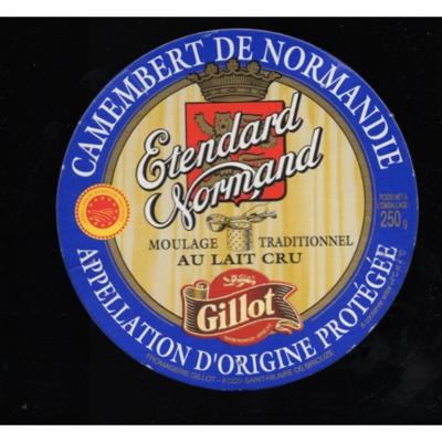 Camembert Gillot  la pièce   300g environ