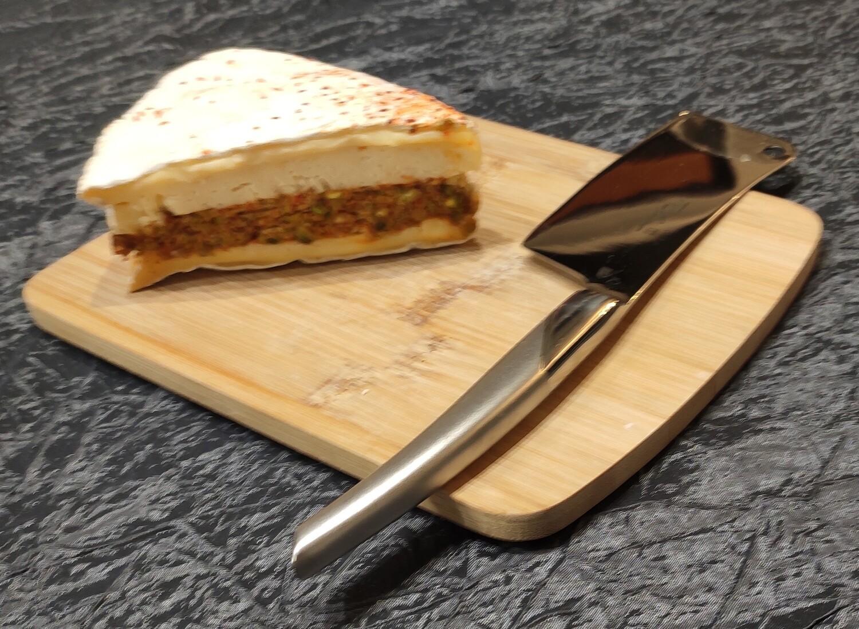 Brie au piment d'Espelette et pistaches concassées  150 g