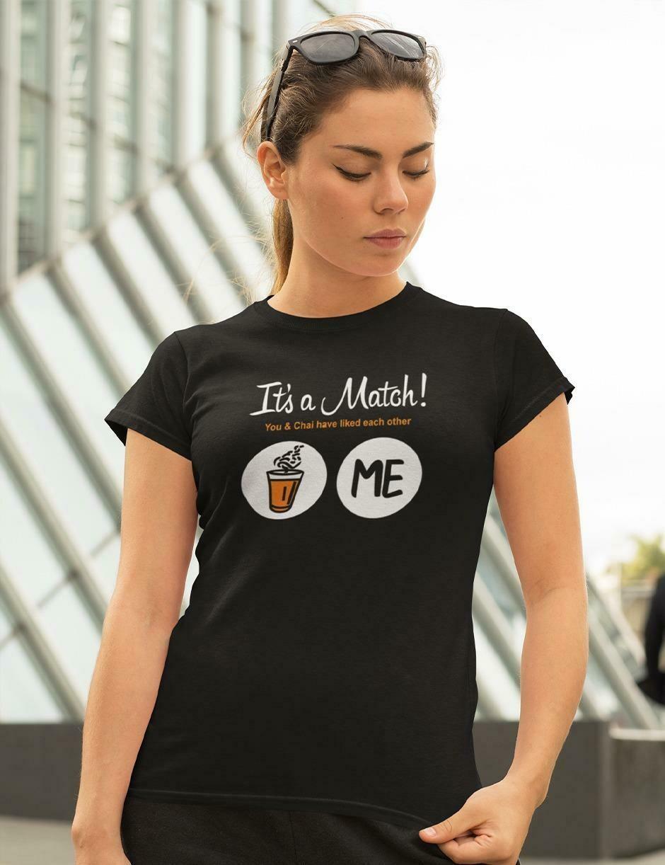 Its a Match Tea - Ladies Top