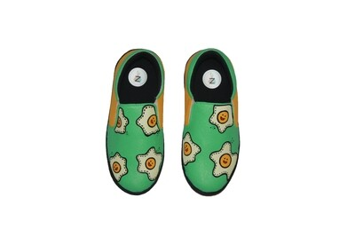 Hand Painted Egg Shoes For Kids
