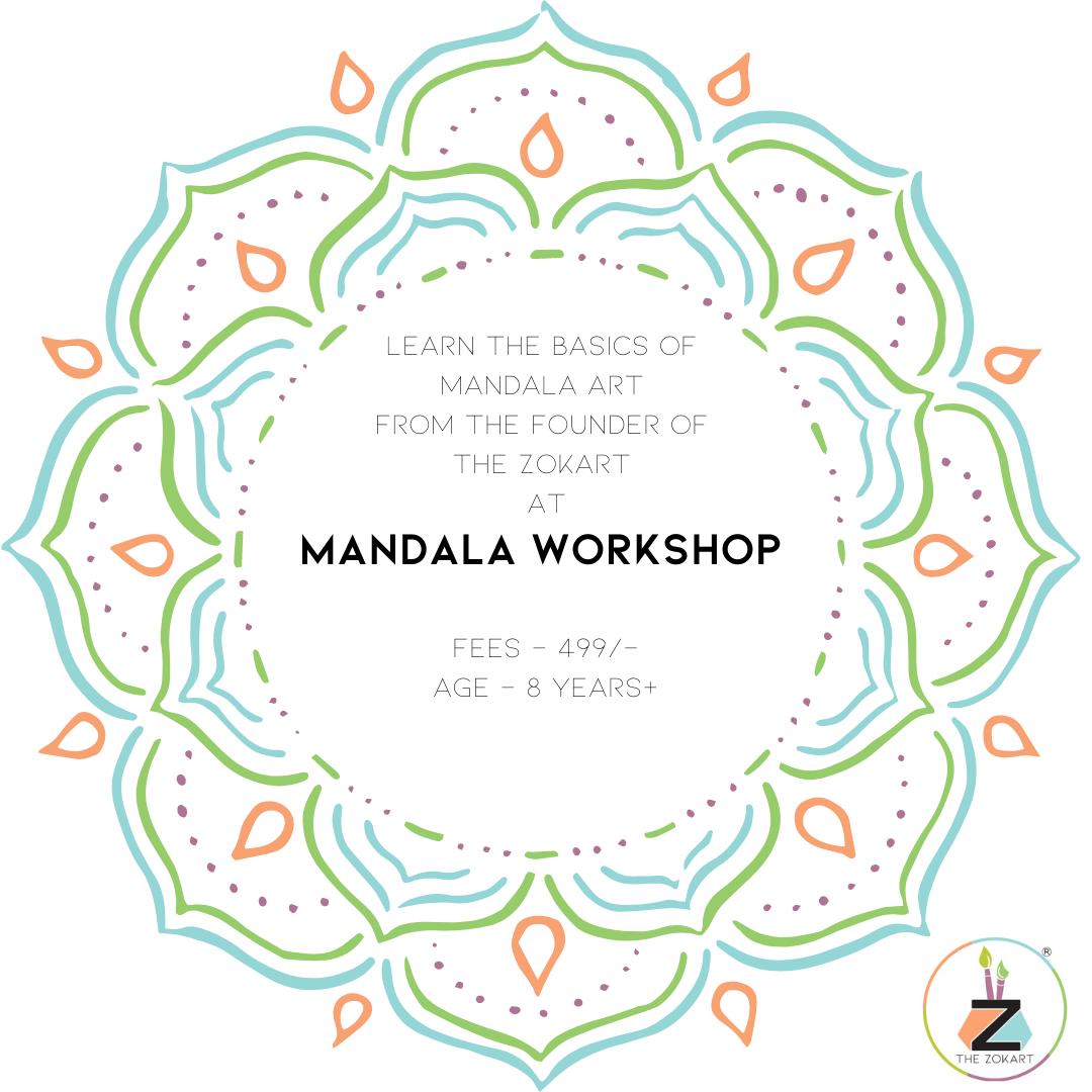 Basic Mandala Workshop 24th-25th April 2021