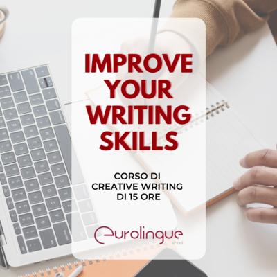 Corso online Creative Writing (15 ore)