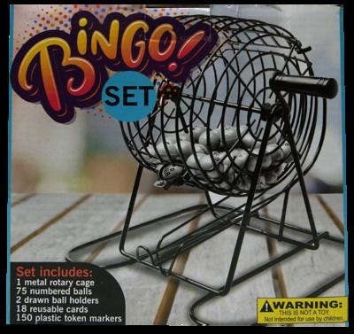 Juego de Mesa Bingo Set