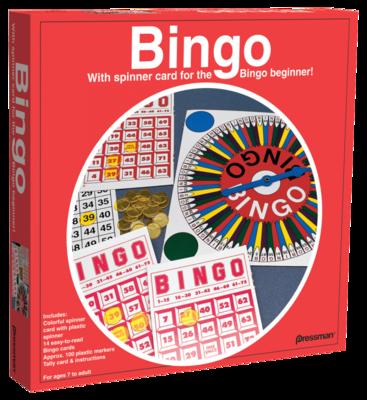 Juego de Mesa Bingo en Girador