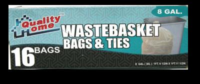 Bolsas Wastebasket 8 Galones
