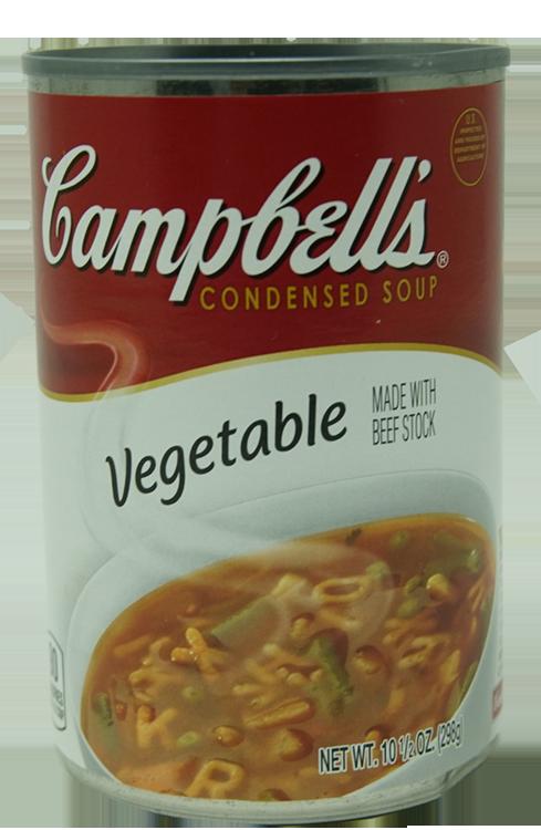 Sopa Campbells de Vegetales