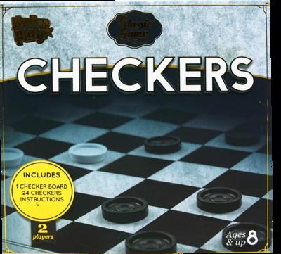 Juego de Mesa Checkers Classic Game