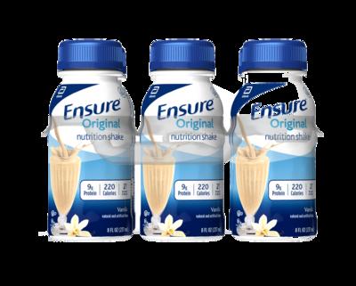 Bebida Ensure Original 6pkg