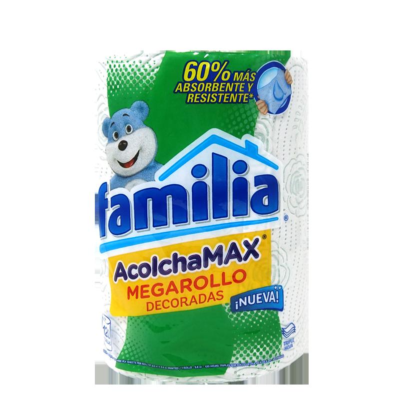 Papel Toalla Familia AcolchaMAX Megarollo