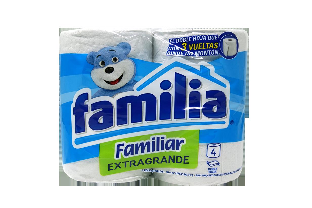Papel Higiénico Familia Extragrande