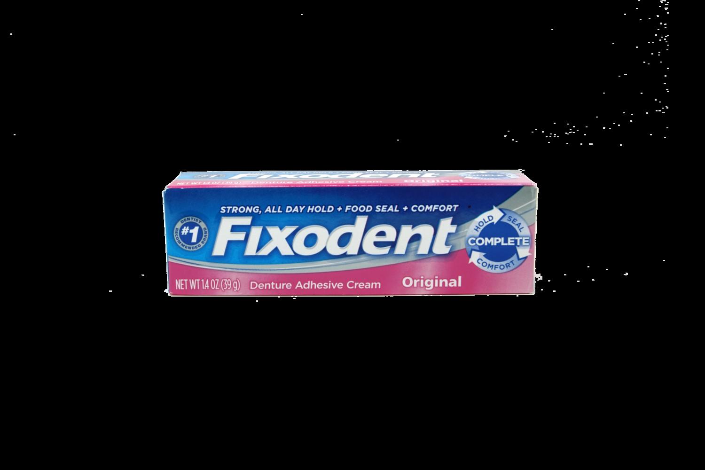Adhesivo para Dentaduras Fixodent 1.4 onz