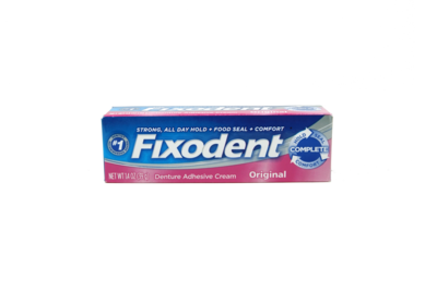 Adhesivo para Dentaduras Fixodent
