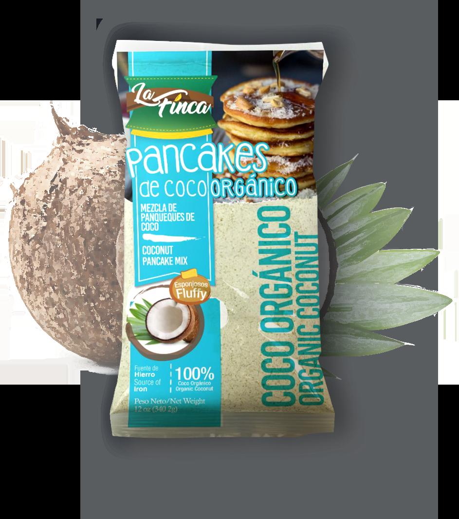 Harina para Pancakes De Coco
