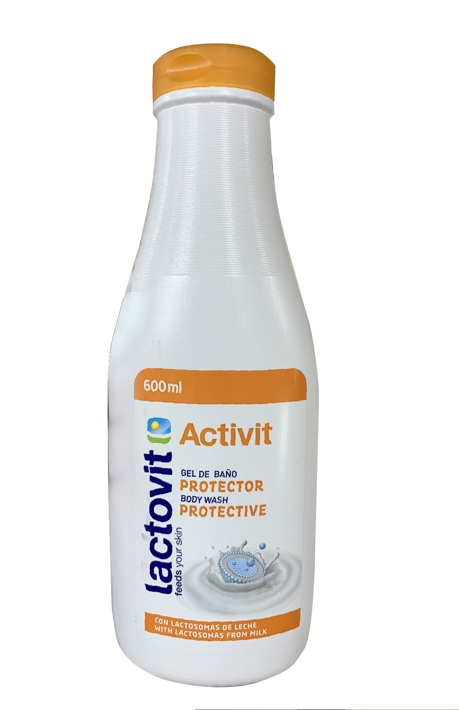 Jabón Gel de Baño Loctovit Activit 600 mL