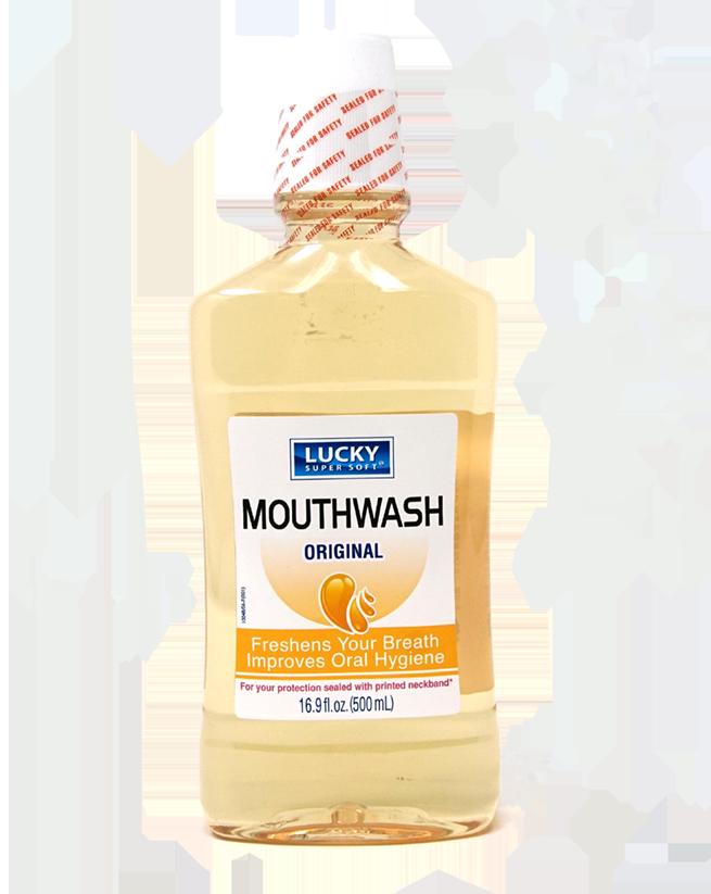 Enjuague Bucal Mouthwash Lucky Super Soft