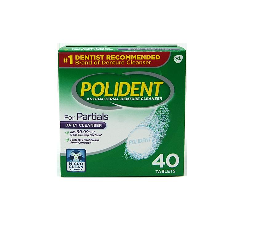 Limpiador de Dentaduras Polident