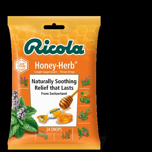 Pastillas para la Tos Ricola Honey-herb