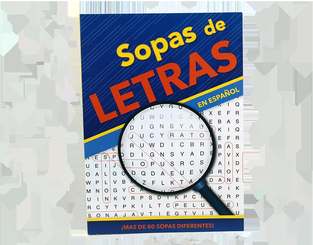 Libro Sopas De Letra