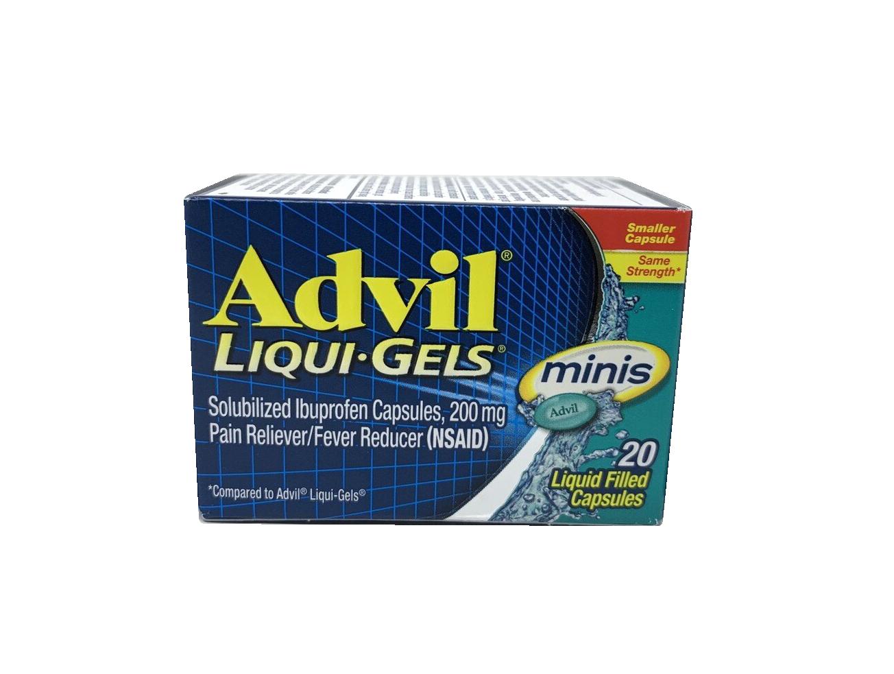 Advil Liqui Gels Minis